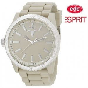 Relógio EDC by Esprit® Rubber Star Milky White | 3ATM
