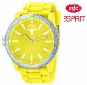 Relógio EDC by Esprit® Rubber Star Yellow | 3ATM