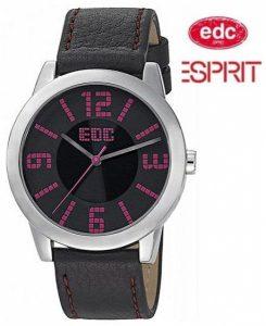 Relógio EDC by Esprit® Slim Sunrise Midnight Black | 3ATM