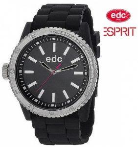 Relógio EDC by Esprit® Rubber Starlet Midnight Black | 3ATM