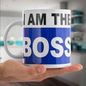 Caneca XXL 750ml | I am the Boss !