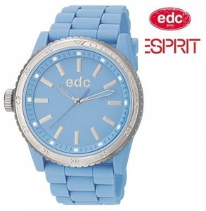 Relógio EDC by Esprit® Rubber Starlet Frosty Blue | 3ATM