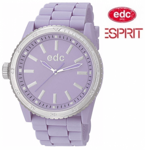 Relógio EDC by Esprit® Rubber Starlet Frosty Purple | 3ATM