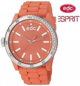 Relógio EDC by Esprit® Rubber Starlet Light Salmon | 3ATM