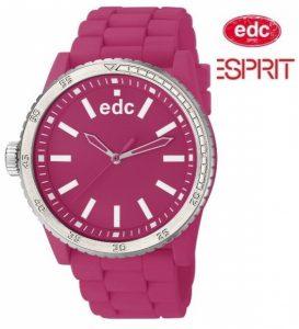 Relógio EDC by Esprit® Rubber Starlet Hot Pink | 3ATM