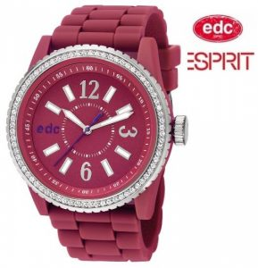 Relógio EDC by Esprit® Glam Envy Berry Pink | 3ATM