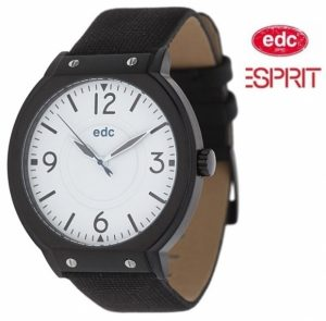 Relógio EDC by Esprit® High Flyer Midnight Black Silver | 3ATM