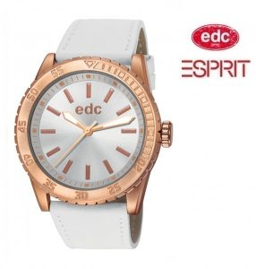 Relógio EDC by Esprit® Champion Starlet Pure White Rose Gold | 3ATM