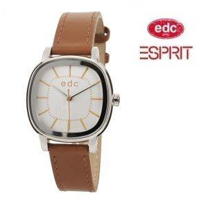 Relógio EDC by Esprit® Modern Retro Silver Brown | 3ATM
