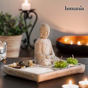 Jardim Zen Decorativo Com Buda Homania