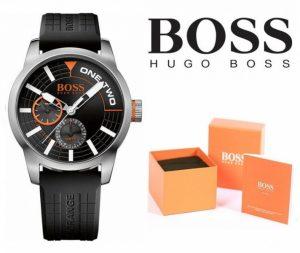 Relógio Hugo Boss® Men´s Tokyo Orange Black | 10ATM
