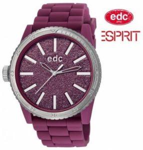 Relógio EDC by Esprit® Glitter Star Deep Burgandy | 3ATM