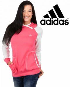 Adidas® Camisola Hoodie Originals Rosa | Com Capuz