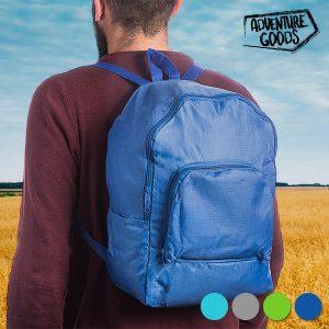 Mochila Dobrável Adventure Goods | Disponível em 4 Cores!