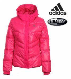 Adidas® Casaco de Penas Rosa | Tecnologia Climaproof®