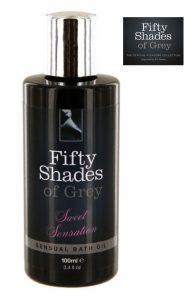 As Cinquenta Sombras de Grey | Óleo de Banho Sensual Perfumado | 100 Ml