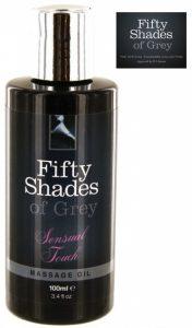 As Cinquenta Sombras de Grey | Óleo de Massagem Sensual | 100 Ml