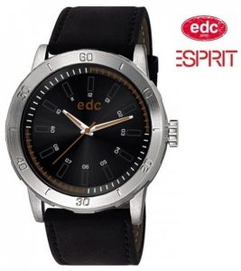 Relógio EDC by Esprit® Genuine Star Midnight Black | 3ATM