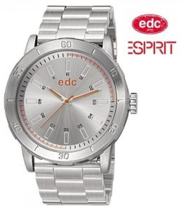 Relógio EDC by Esprit® Genuine Star Cool Silver | 3ATM