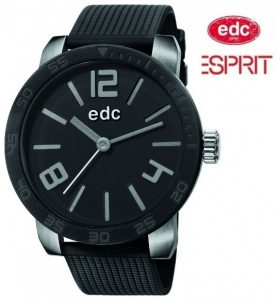 Relógio EDC by Esprit® Bold Maverick Midnight Black | 3ATM