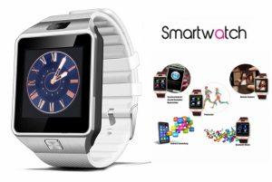 Relógio com Telefone Cinza C|Câmera | Bluetooth |  Pedómetro | HD TFT LCD Touch Screen