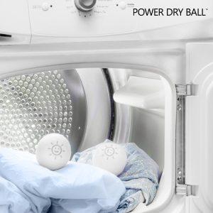 Pack 2 Bolas de Lã da Nova Zelândia para Máquina de Secar Roupa Power Dry Ball