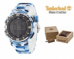 Relógio Timberland® Cadion Blue Camouflage | Bracelete Silicone | 10ATM