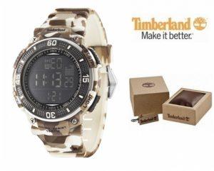 Relógio Timberland® Cadion Brown Camouflage | Bracelete Silicone | 10ATM