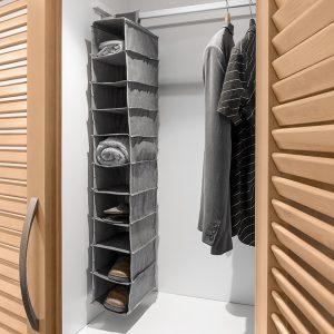 Organizador de Tecido Para Pendurar | 10 Compartimentos