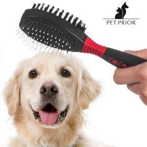 Cepillo De Doble Cara Para Mascotas Pet Prior