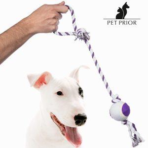 Cuerda Con Bola Para Perros Pet Prior | Colores Surtidos!