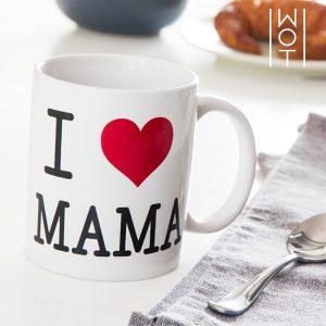 Chávena I Love Mama Wagon Trend