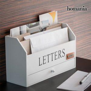 Organizador de Cartas Vintage Homania
