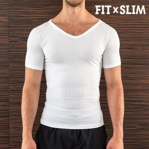 Fit x Slim | Conjunto de 2 Camisolas Interiores Redutoras Para Homem