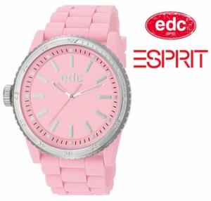 Relógio EDC by Esprit® Rubber Starlet Frosty Pink | 3ATM
