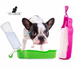 Bebedero portátil con botella para Mascotas Pet Prior