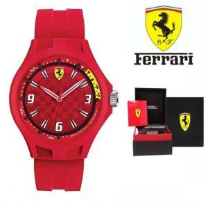Relógio Ferrari® Scuderia Pit Crew Silicone | 3ATM