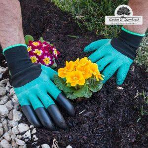 Luvas com 4 Garras para Cavar Garden | Greenhouse