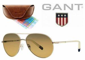 Gant® Óculos de Sol GWS 8017 CRMGLD-1