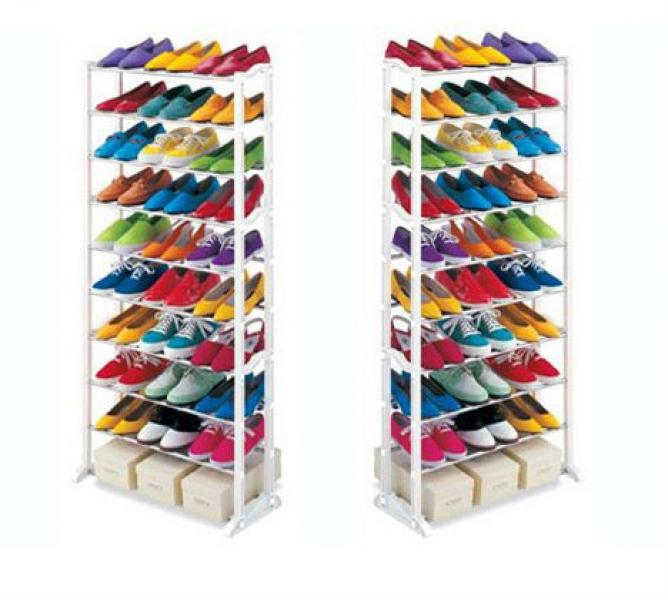 Zapatero 30 pares organize sus zapatos you like it for Zapatero para 30 pares de zapatos