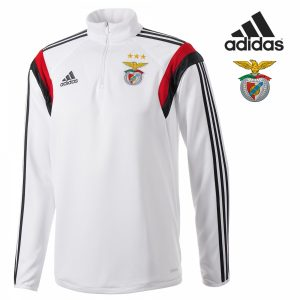 Adidas® Camisola de Treino Benfica | Branca | Tecnologia Climacool®