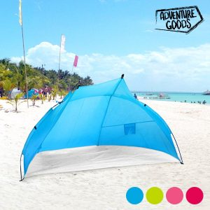 Toldo de Praia Adventure Goods | Disponível Em 4 Cores