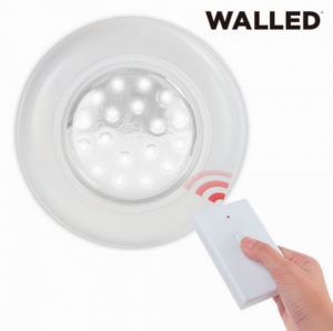 Walled Lâmpada Led de Teto com Comando