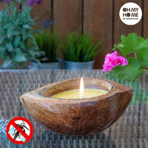 Vela De Citronela Coconut Oh My Home