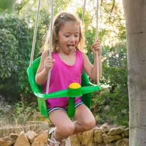 Baloiço Para Criança Com Divertida Buzina !