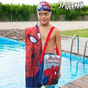 Kit de Piscina Spiderman | Toalha | Touca | Óculos Natação | Mochila !