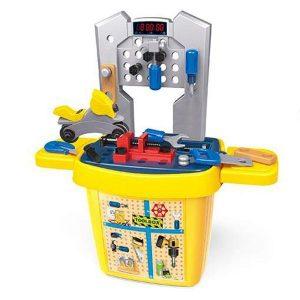 Jogo De Oficina Com Armário Para Brinquedos