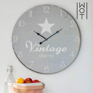 Relógio e Parede Star XL Vintage Coconut