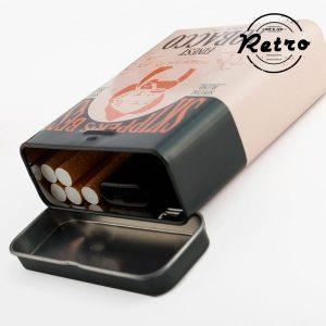 Cigarreira Metálica Retro | Pack 2 Disponível Em Vários Modelos | Enviado Aleatoriamente
