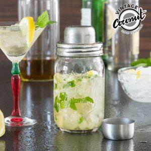 Misturador De Cocktails de Vidro Vintage Coconut